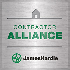James Hardie Contractor Alliance Badge